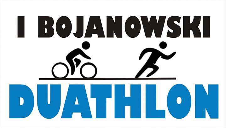 Logo Zawodów I Bojanowski Duathlon 2017