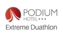 Logo Zawodów Hotel Podium Extreme Duathlon 2020
