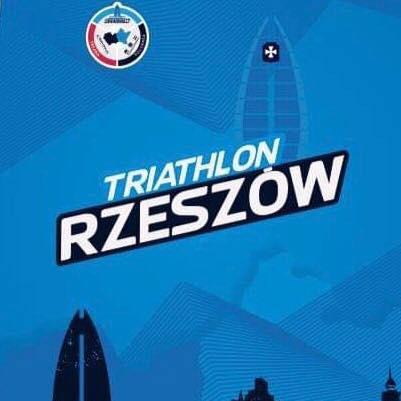 Logo Zawodów Triathlon Rzeszów 2020