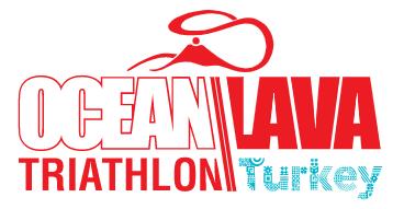 Logo Zawodów Ocean Lava Turkey Triathlon 2020