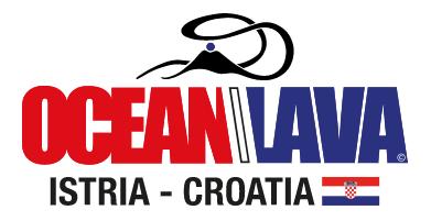 Contests Logo Ocean Lava Croatia Triathlon 2020