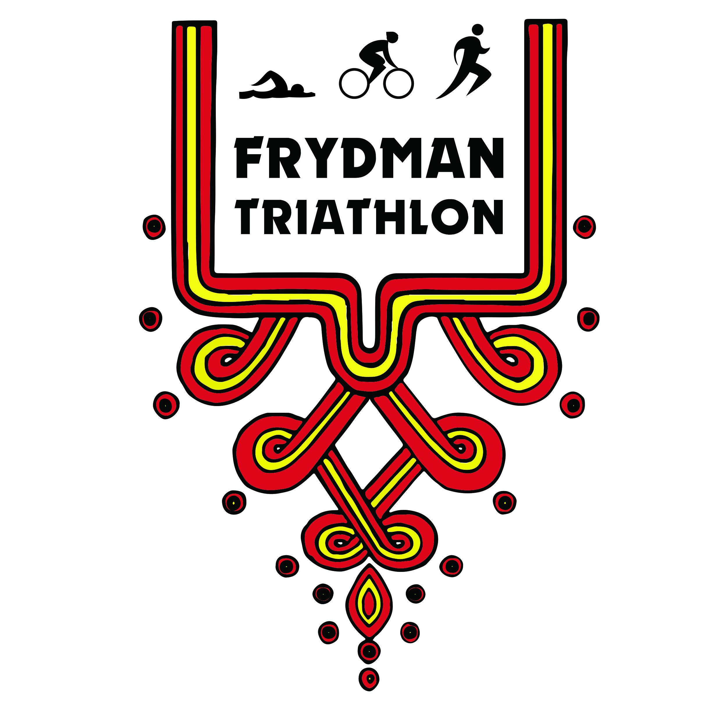 Logo Zawodów IX Frydman Triathlon 2018