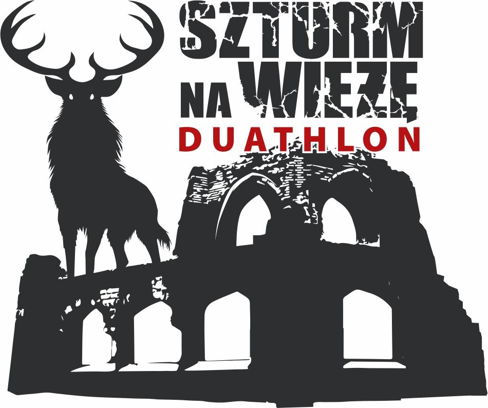 Logo Zawodów Szturm na Wieżę Cross Duathlon 2020