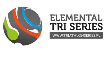 Logo Zawodów Elemental Tri Series Białystok Triathlon 2018