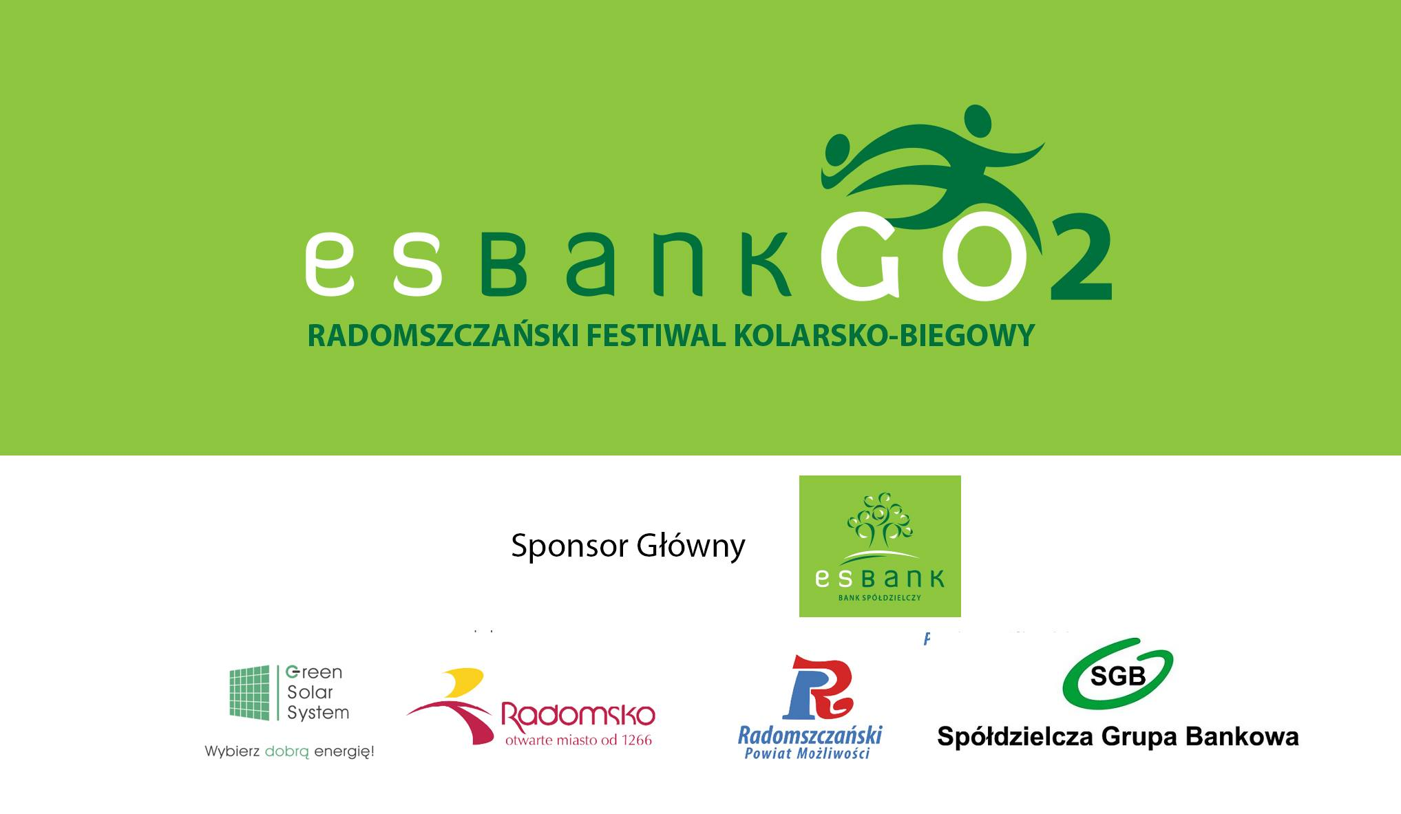 ESBANK GO 2 - Radomszczański Festiwal Kolarsko - Biegowy