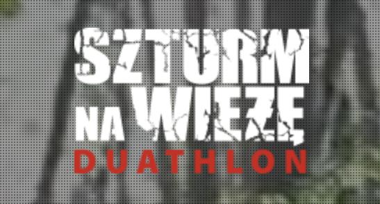 Logo Zawodów Szturm na Wieżę Cross Duathlon 2021