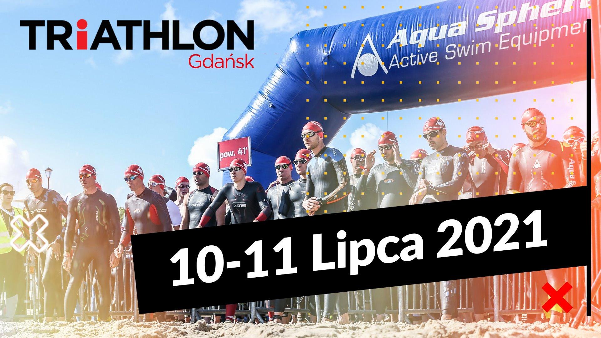 Logo Zawodów Triathlon Gdańsk 2021