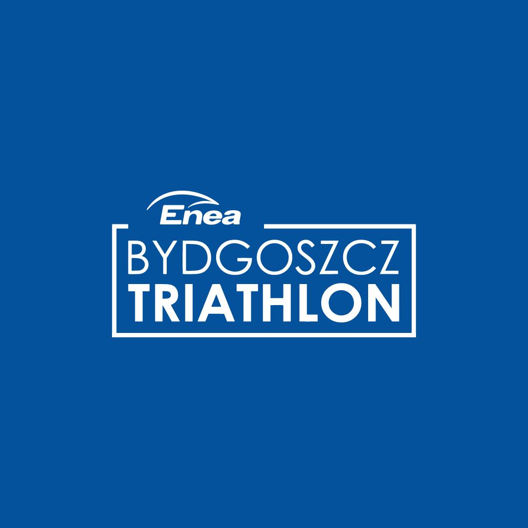 Logo Zawodów Enea Bydgoszcz Triathlon 2021 Lipiec