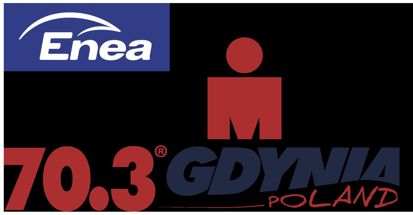 Logo Zawodów Enea IRONMAN 70.3 Gdynia 2021