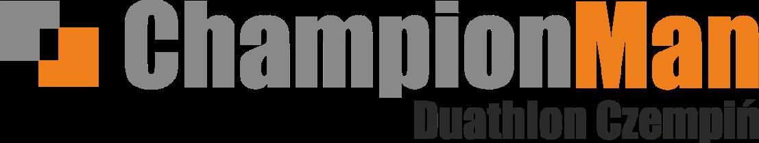 Logo Zawodów ChampionMan Duathlon Czempiń 2021