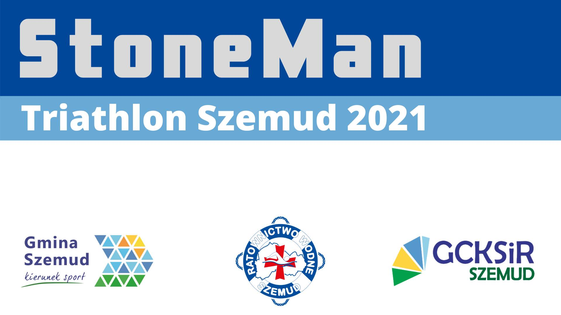 Contests Logo StoneMan Triathlon Szemud 2021