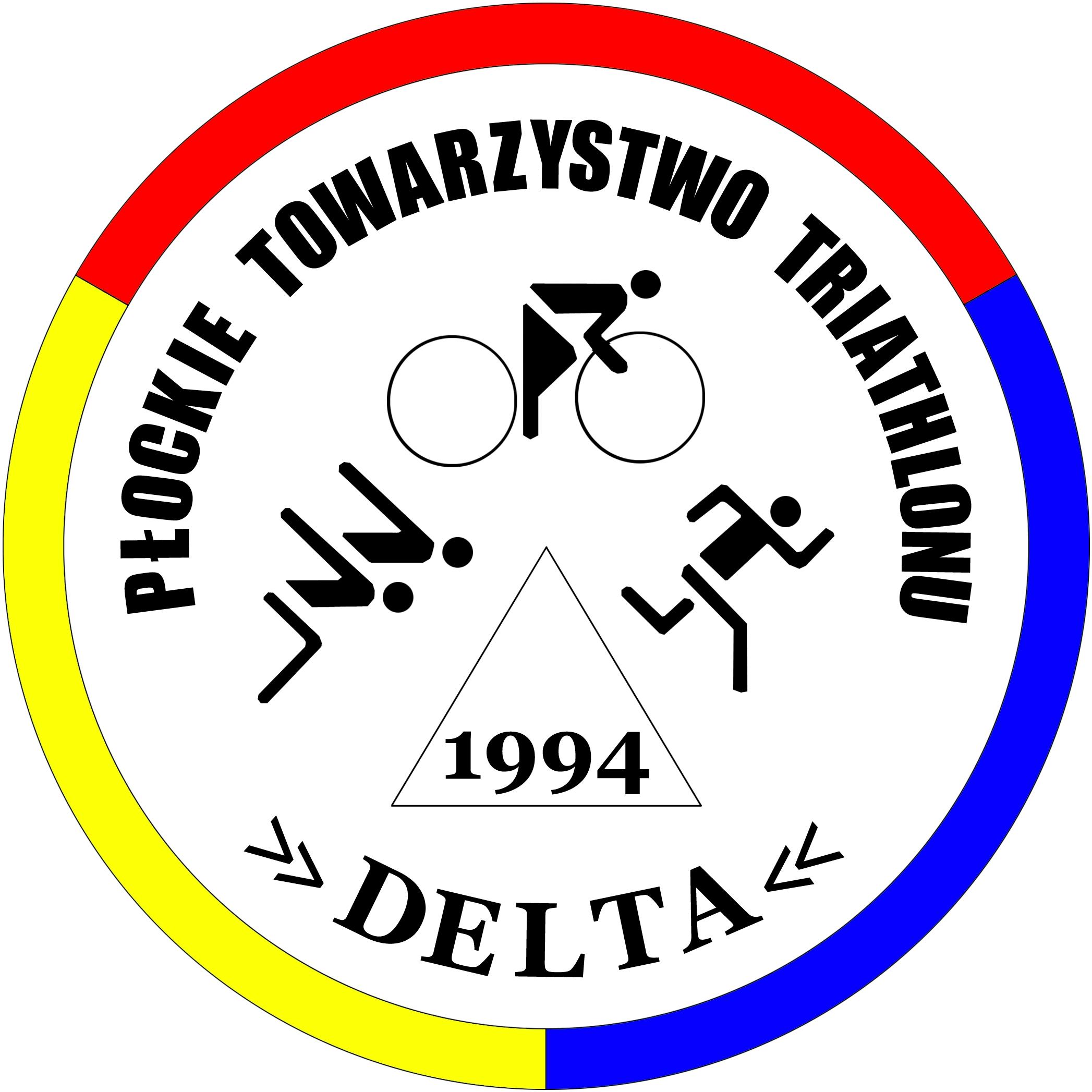 Logo Zawodów XVI Triathlon o Puchar Prezydenta Miasta Płocka 2021