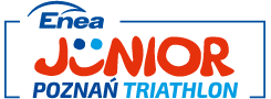 Logo Zawodów ENEA Junior Poznan Triathlon 2021