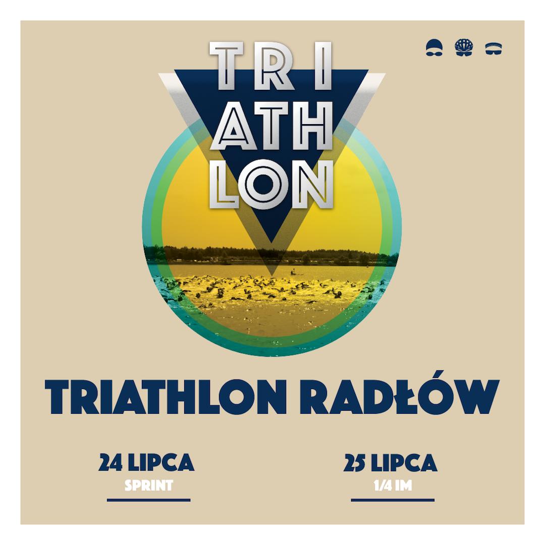 Logo Zawodów Grupa Azoty Triathlon Radłów 2021