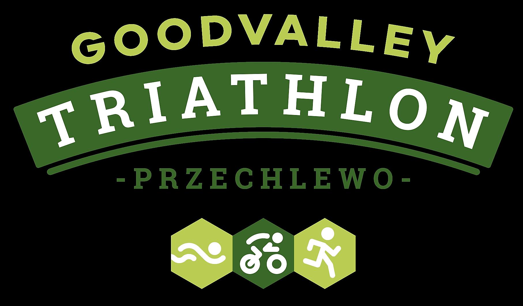 Logo Zawodów Goodvalley Triathlon Przechlewo 2021