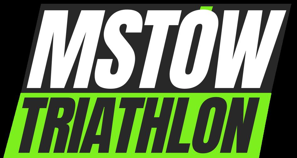 Logo Zawodów Mstów Triathlon 2021