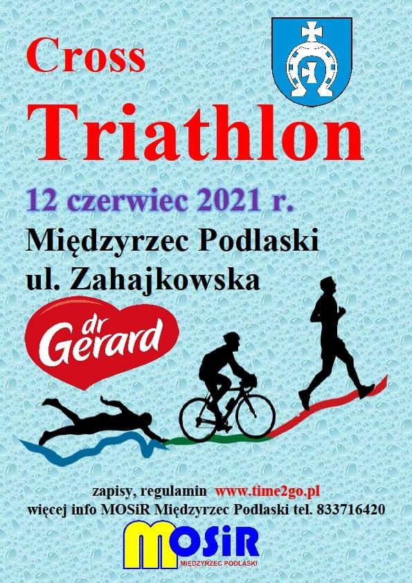 Logo Zawodów Cross Triathlon Międzyrzec Podlaski 2021