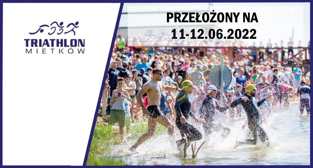 Logo Zawodów Triathlon Mietków 2022