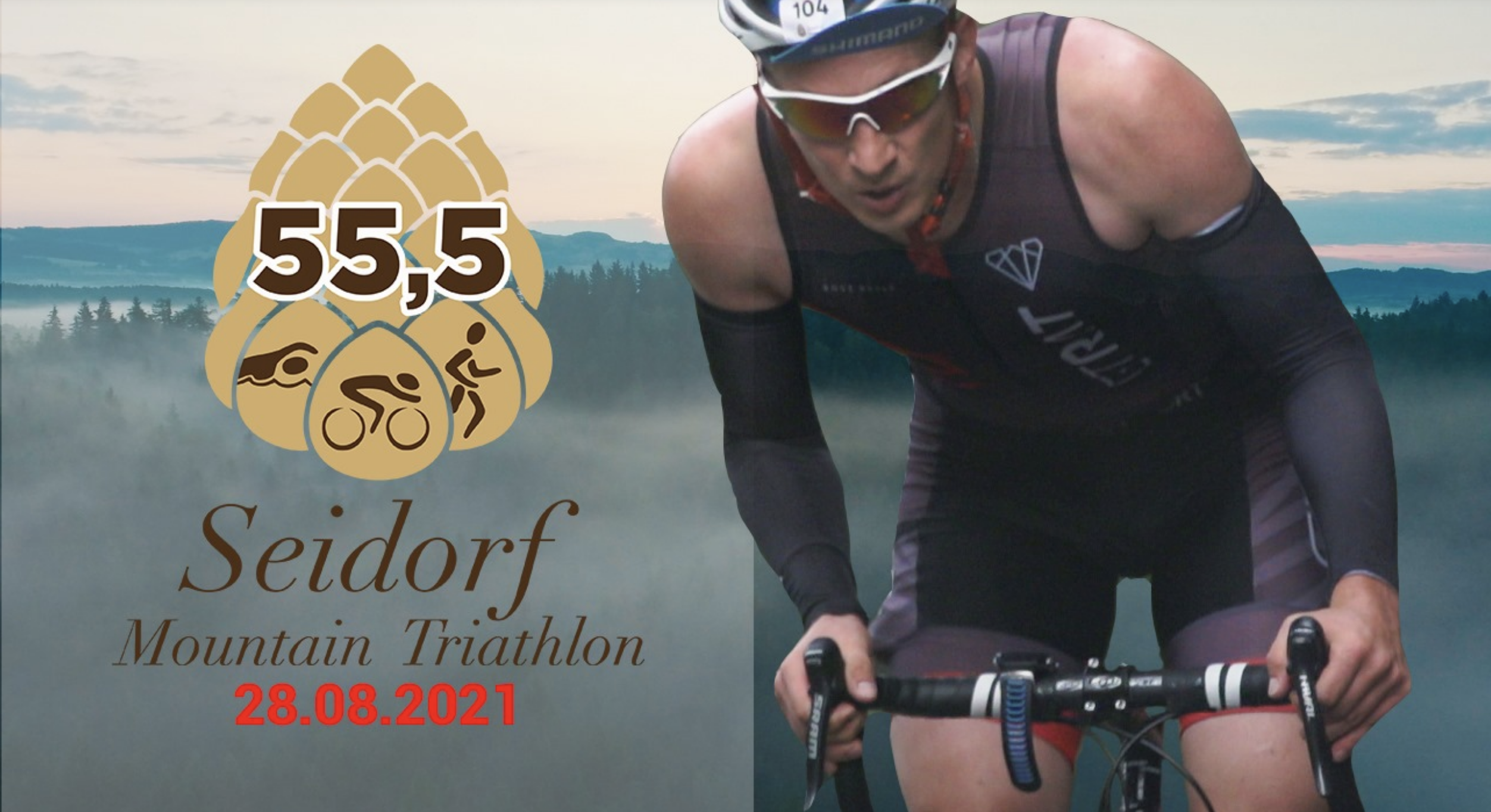 Logo Zawodów Seidorf Mountain Triathlon Wojanów - Sosnówka 2021