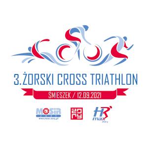Logo Zawodów 3. Żorski Cross Triathlon 2021