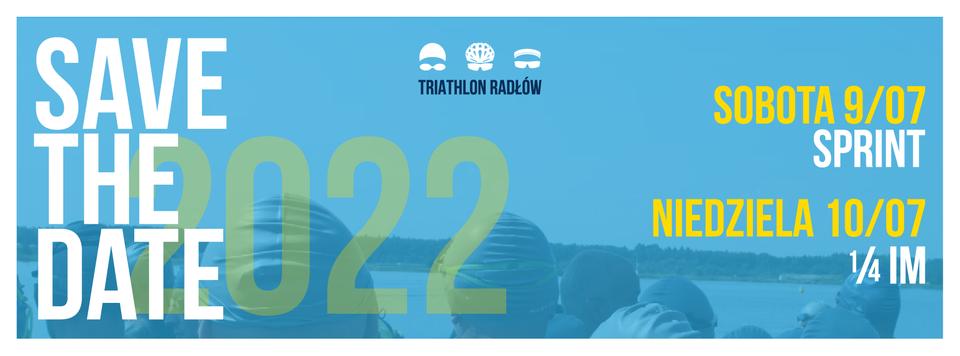Logo Zawodów Grupa Azoty Triathlon Radłów 2022
