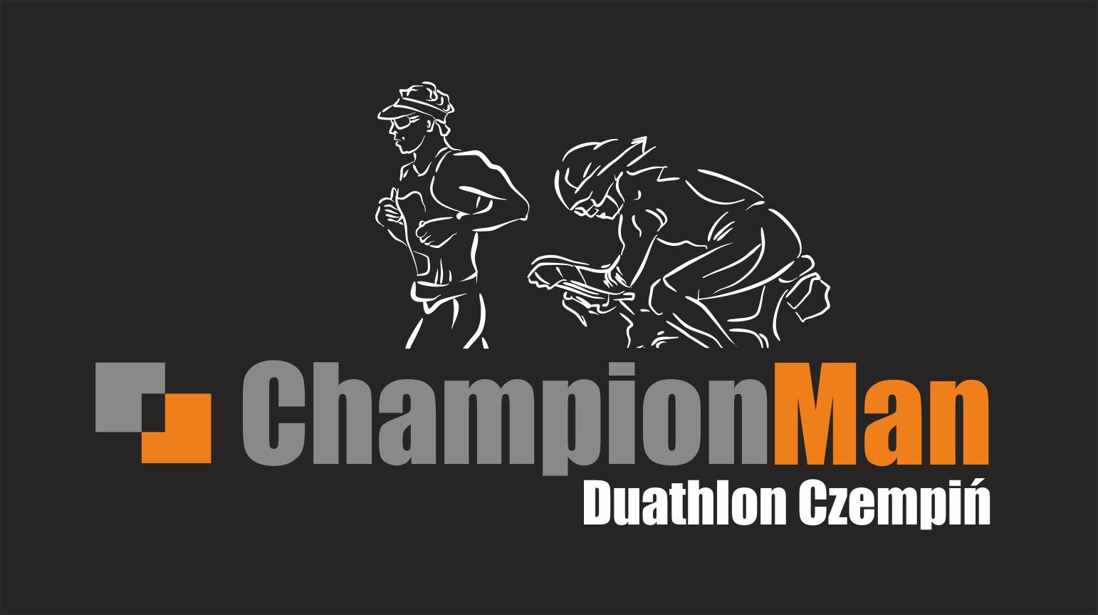 Logo Zawodów ChampionMan Duathlon Czempiń 2022