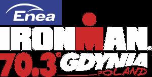 Logo Zawodów Enea Ironman 70.3 Gdynia 2019