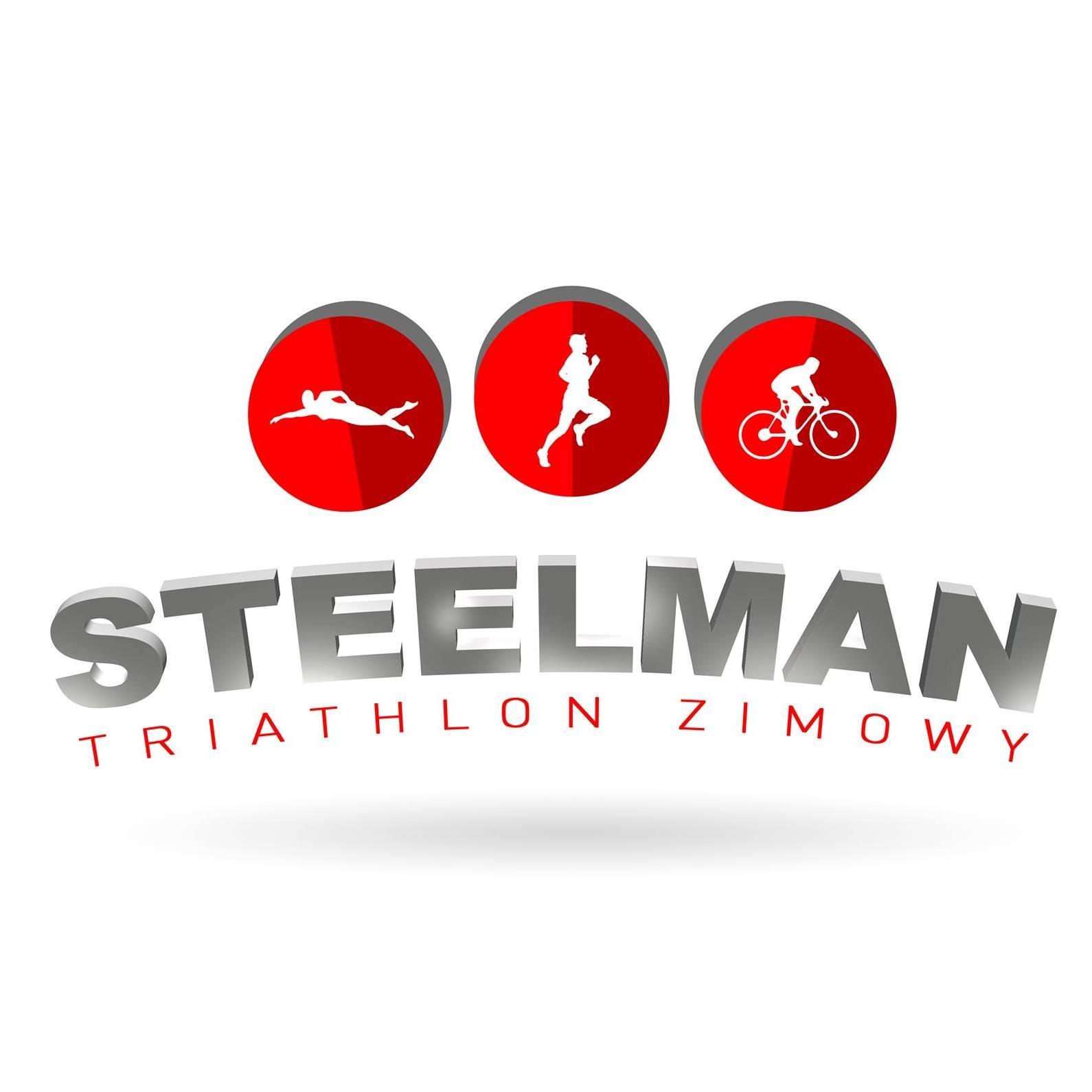 Logo Zawodów Triathlon Steelman Poznań 2019