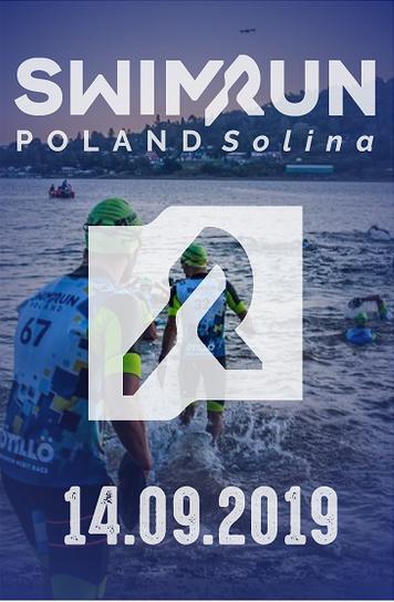 Logo Zawodów Swimrun Poland Solina 2019