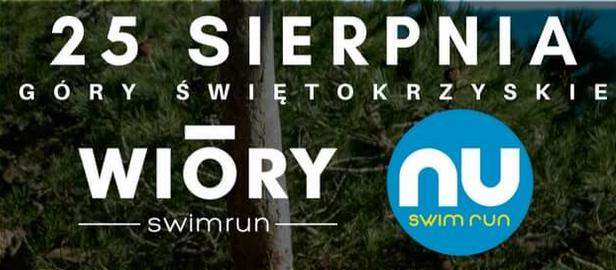 Logo Zawodów Swimrun Wióry 2019 - Góry Świętokrzyskie