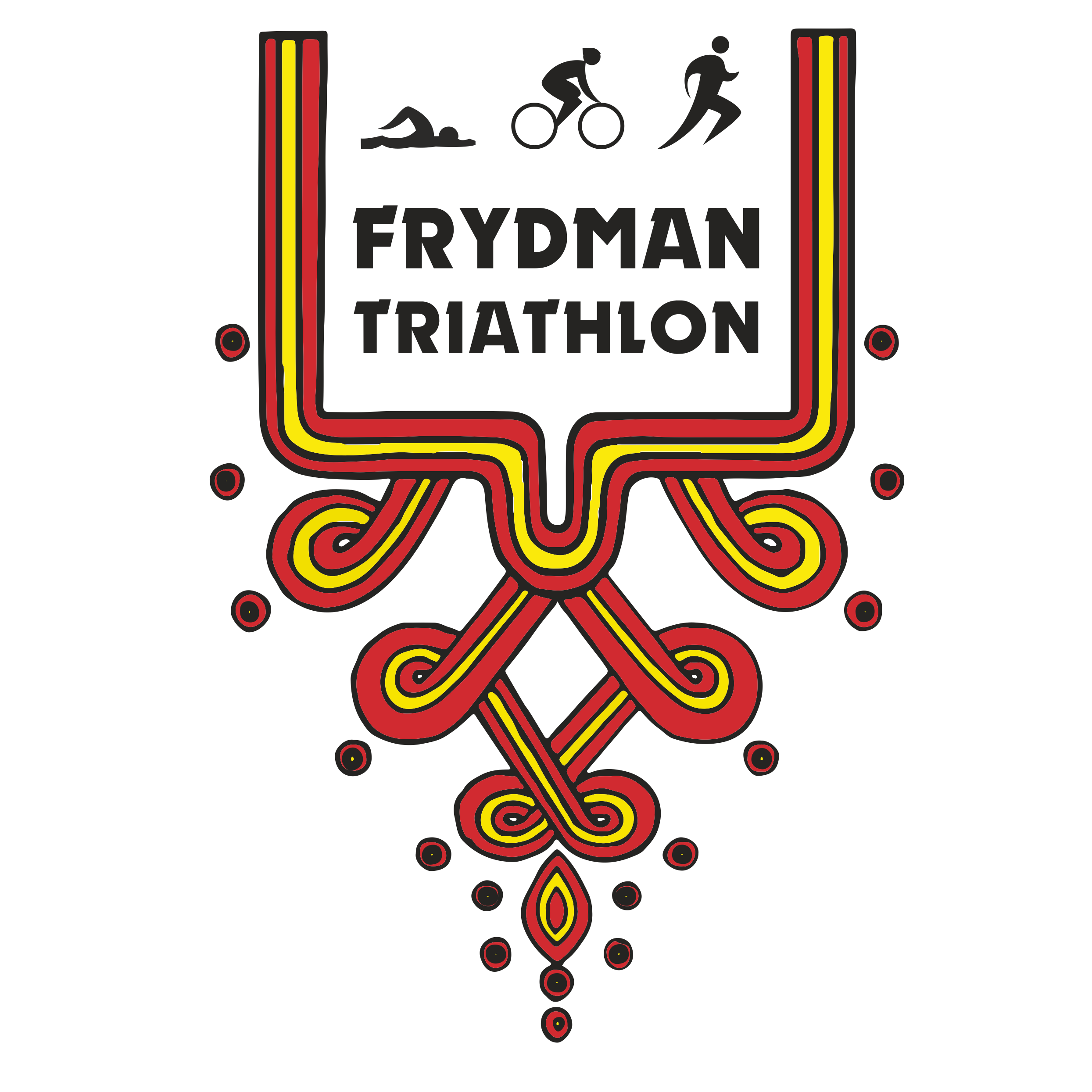 Logo Zawodów Frydman Triathlon 2019