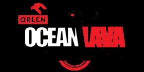 Logo Zawodów Orlen Ocean Lava Triathlon Polska Borówno 2019
