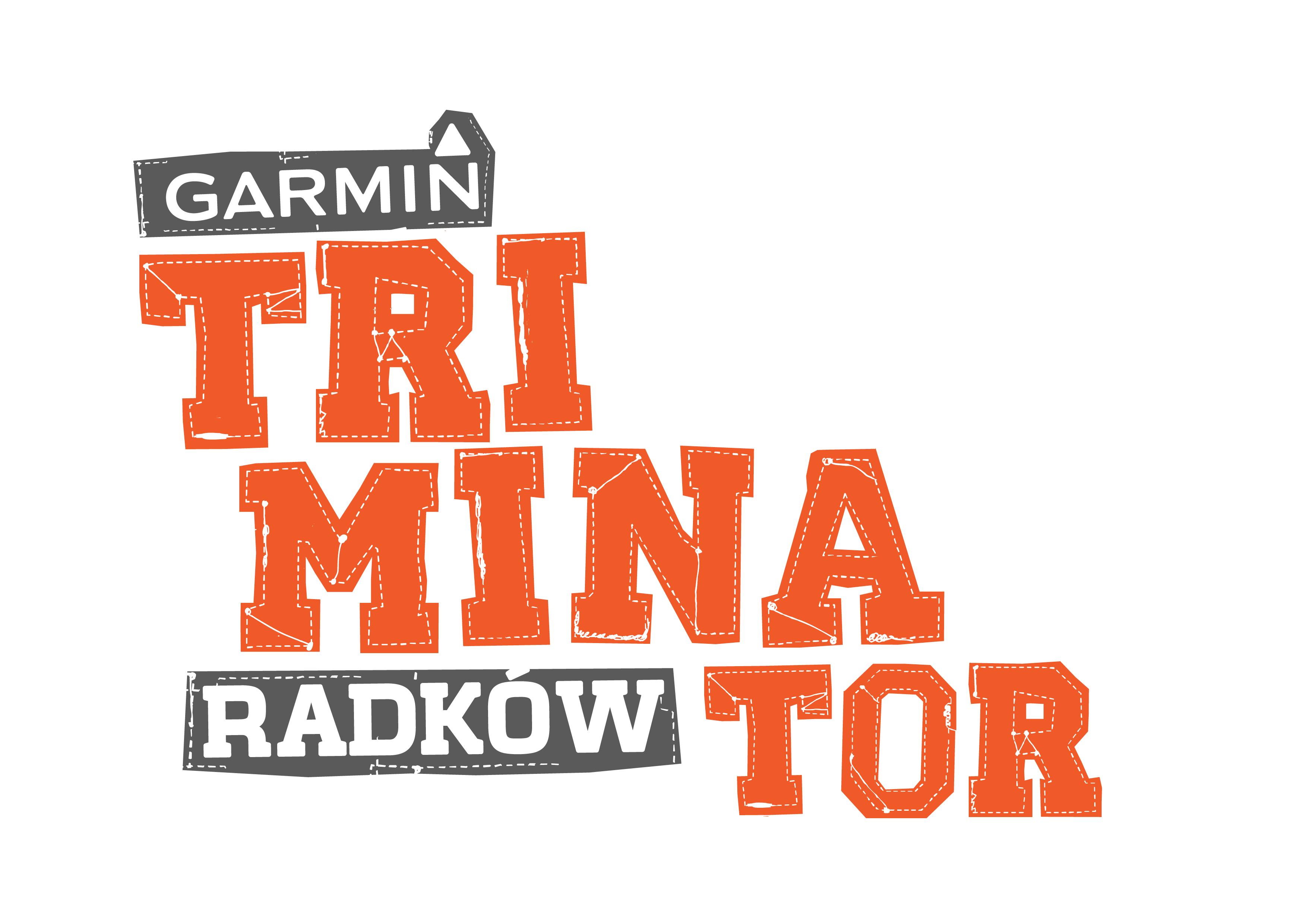 Logo Zawodów Garmin Triminator Radków 2019