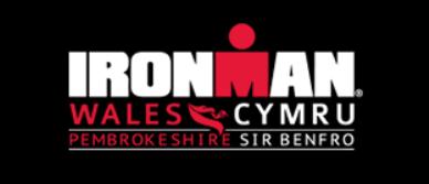 Logo Zawodów Ironman Wales 2019