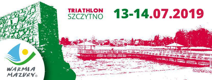 Logo Zawodów Triathlon Szczytno 2019