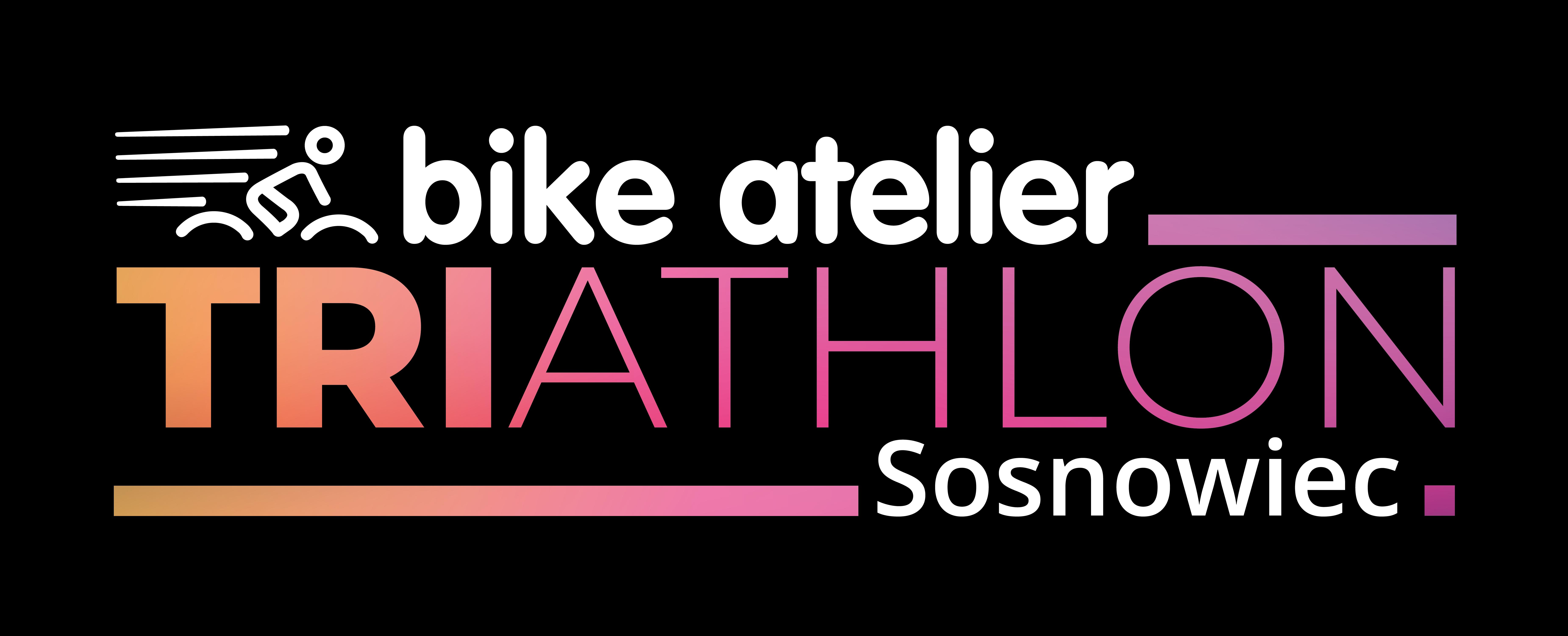 Logo Zawodów Bike Atelier Triathlon Sosnowiec 2019