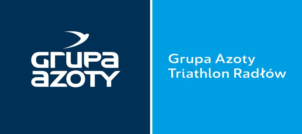 Logo Zawodów Grupa Azoty Triathlon Radłów 2019 - Triada Południa