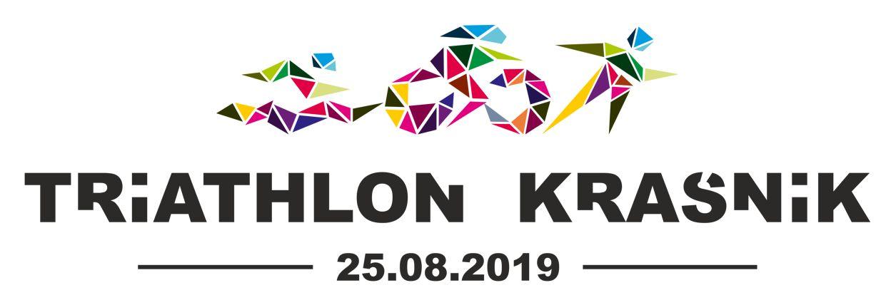 Logo Zawodów VI Triathlon Kraśnik 2019