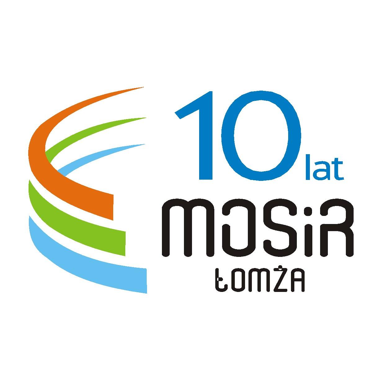Logo Zawodów VI Triathlon MOSiR Łomża 2019