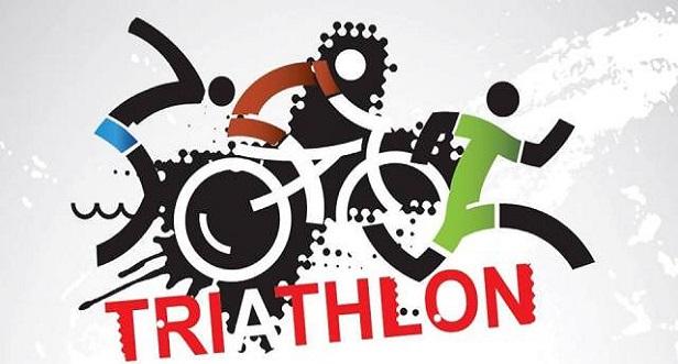 Logo Zawodów IV Zawody Triathlonowe o tytuł Mistrza Doliny Baryczy 2019