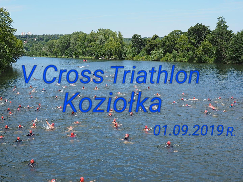 Logo Zawodów V Cross Triathlon Koziołka 2019