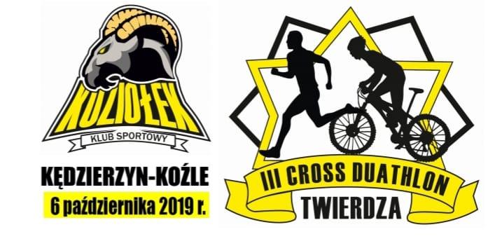 Logo Zawodów III Cross Duathlon Twierdza 2019