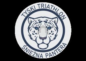 """Logo Zawodów TYSKI TRIATHLON ZIMOWY """"Tyska Śnieżna Pantera"""" 2020"""