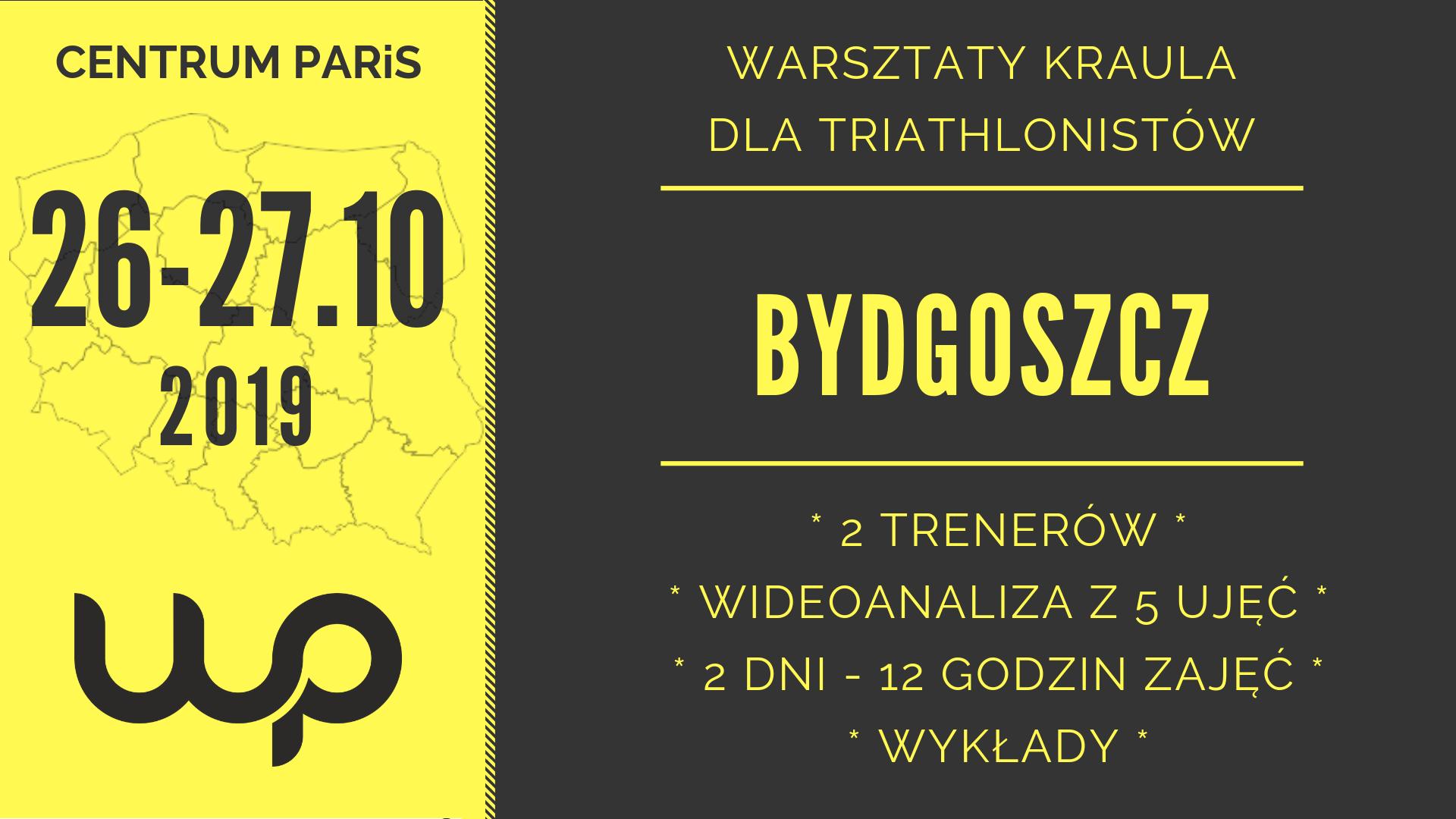 Logo Zawodów Bydgoszcz warsztaty kraula 26-27.10.2019 | WarsztatyPływania.pl