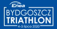 Logo Zawodów Enea Bydgoszcz Triathlon 2020