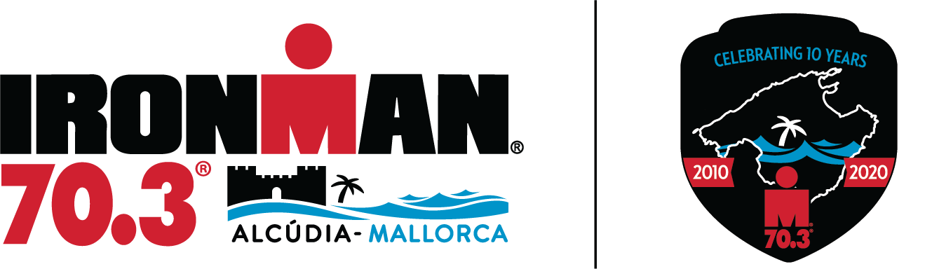 Logo Zawodów IRONMAN 70.3 Alcúdia-Mallorca 2020