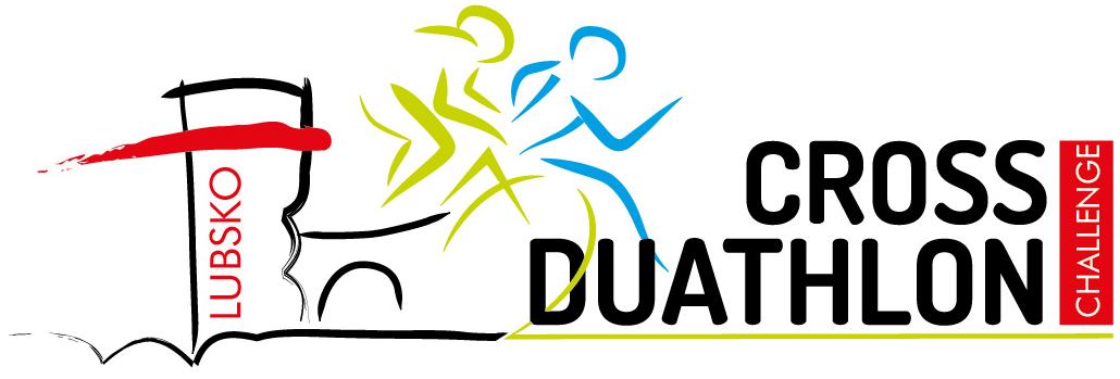 Logo Zawodów Lubsko Cross Duathlon 2017