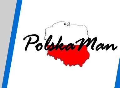 Logo Zawodów PolskaMan Triathlon Wolsztyn 2017