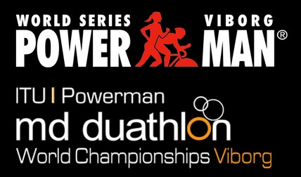 Logo Zawodów Viborg ITU Powerman Middle Distance Duathlon World Championships 2020